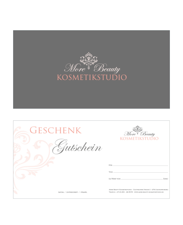 More Beauty Kosmetikstudio Das Neue Design